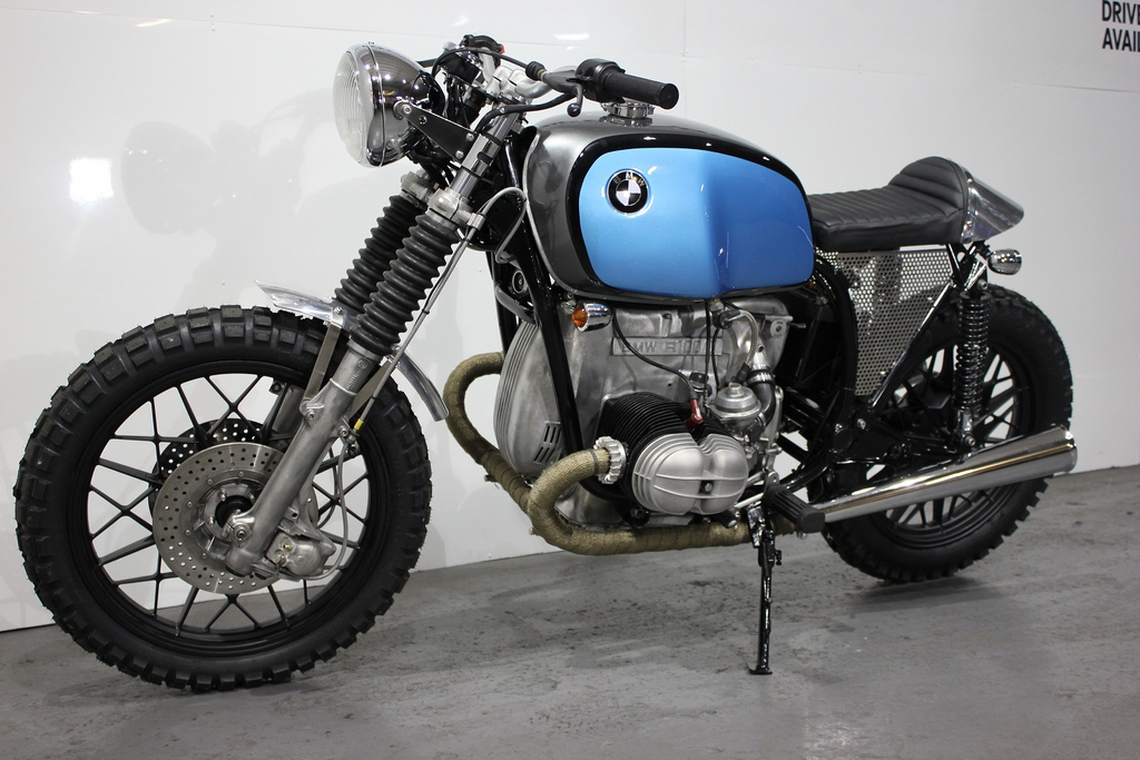 racing caf bmw r100 scrambler flame by kevils speed shop. Black Bedroom Furniture Sets. Home Design Ideas