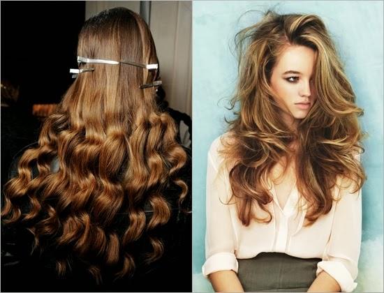 Как сделать локоны для длинных волос модные
