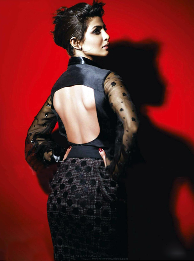 Priyanka Chopra Vogue Magazine Hot Shoot