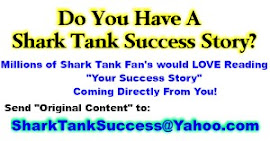Att: All Shark Tank Contestants