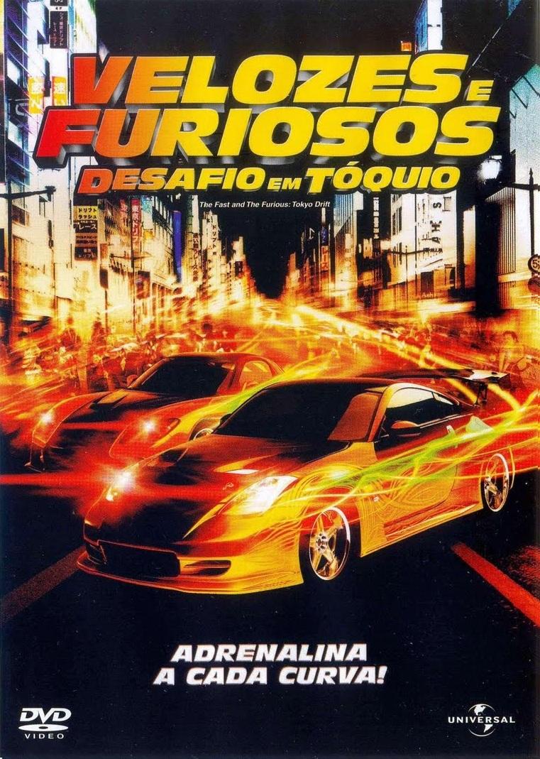 Velozes e Furiosos 3: Desafio em Tóquio – Dublado (2006)