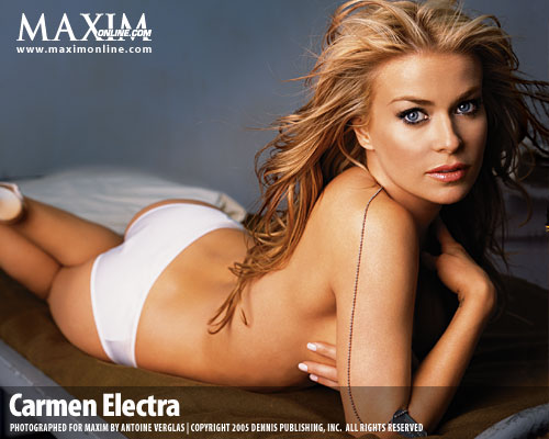 Carmen Electra , Hollywood Actress, American film