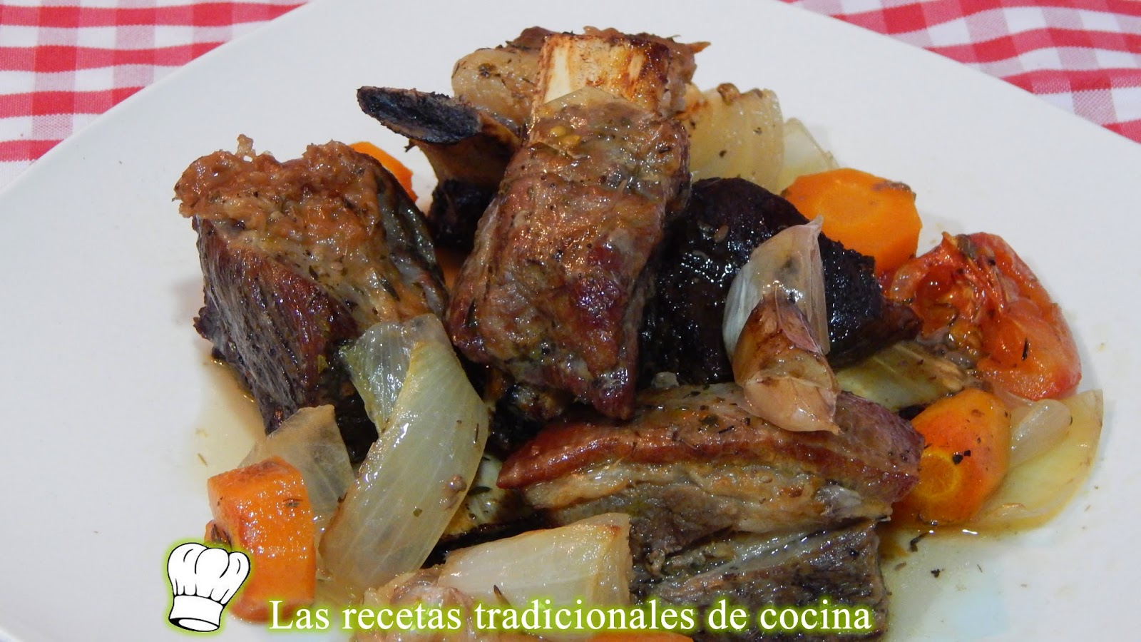 costillas de ternera al horno