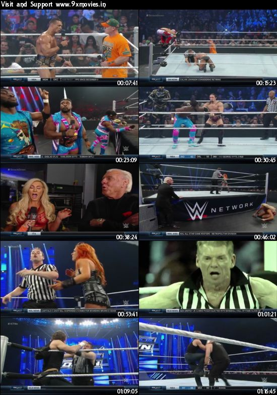 WWE Thursday Night Smackdown 07 Jan 2016 HDTV 480p