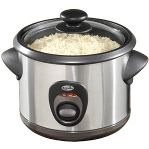 Rice cooker merupakan contoh pemanfaatan energi listrik menjadi energi kalor