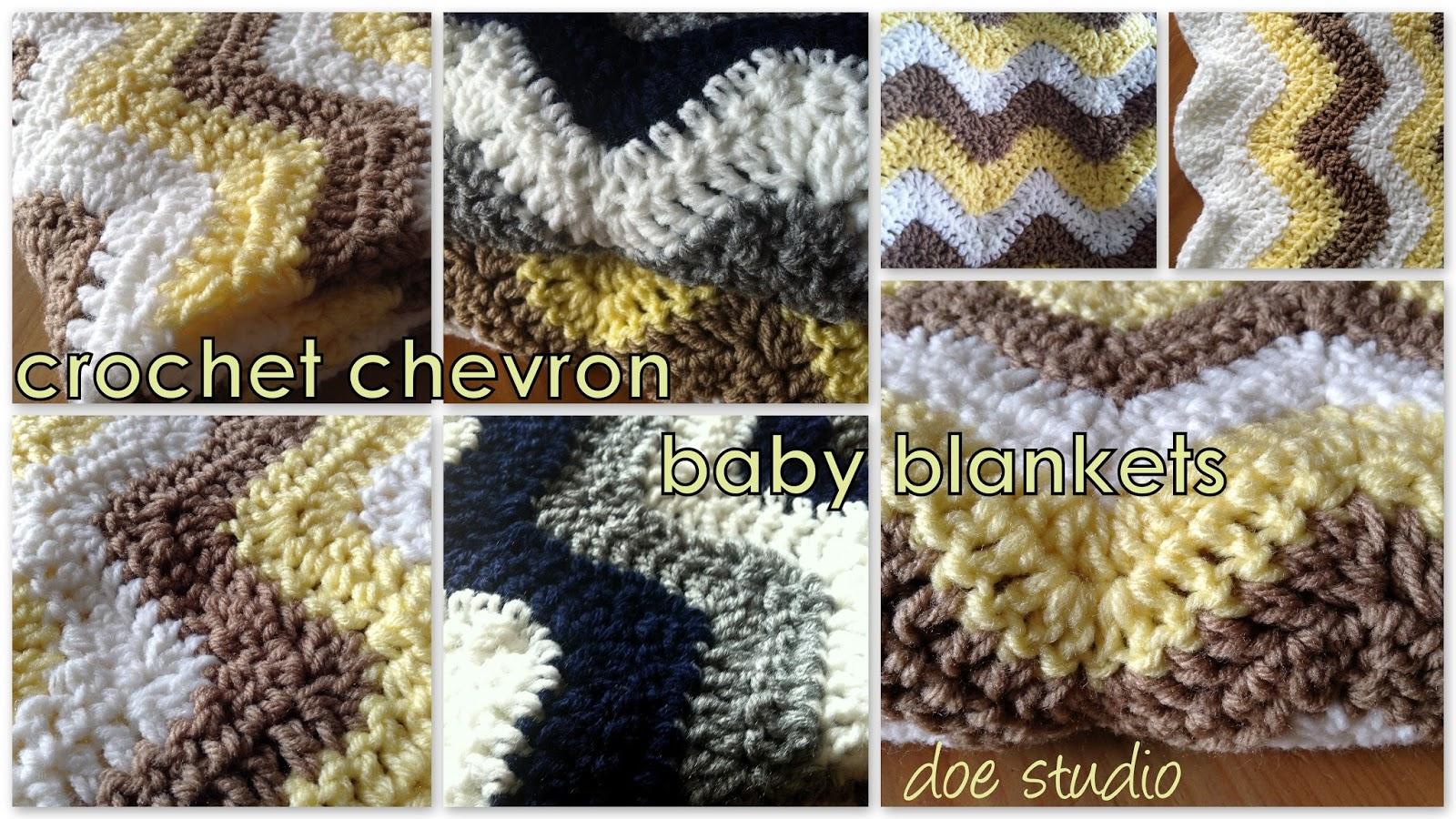 Doe Studio Free Pattern Crochet Chevron Baby Blanket Diagram Mantas Pinterest Here
