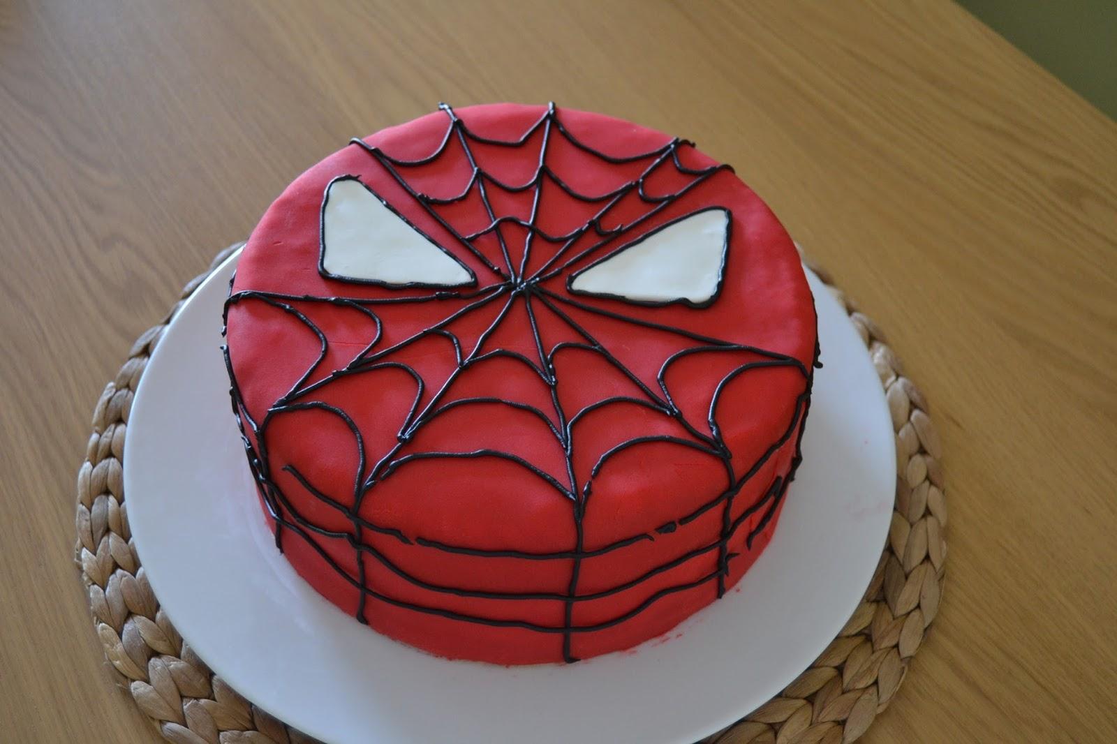 A rapariga do blog ao lado um bolo com cara de homem aranha ento apresento vos aquele bolo que todos sabem fazer nada na manga nada na outra zero truques muito fcil trata se de um simples bolinho de natas com altavistaventures Image collections