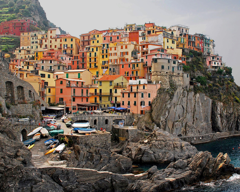 Italy – manarola in cinque terre is the best for quiet and