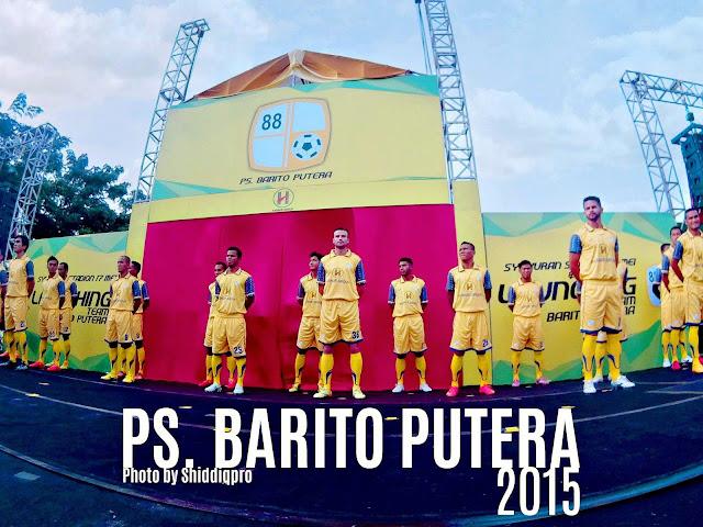 Foto Launching skuat dan jersey Barito Putera