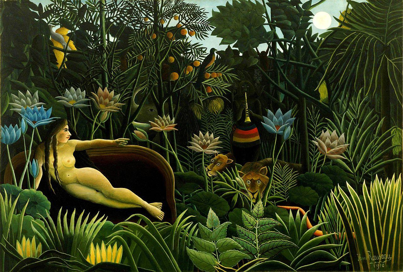 La rêve (Henri Rousseau, 1910)