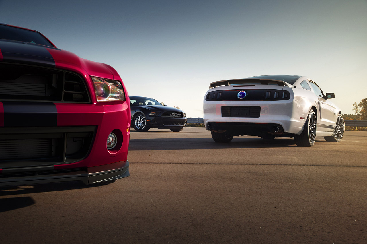 2014 Mustang and Shelby GT500
