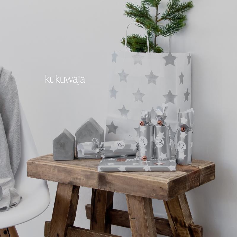 kukuwaja silber kupfer adventskalender 10 2015 kaschmir textilien wohnaccessoires. Black Bedroom Furniture Sets. Home Design Ideas