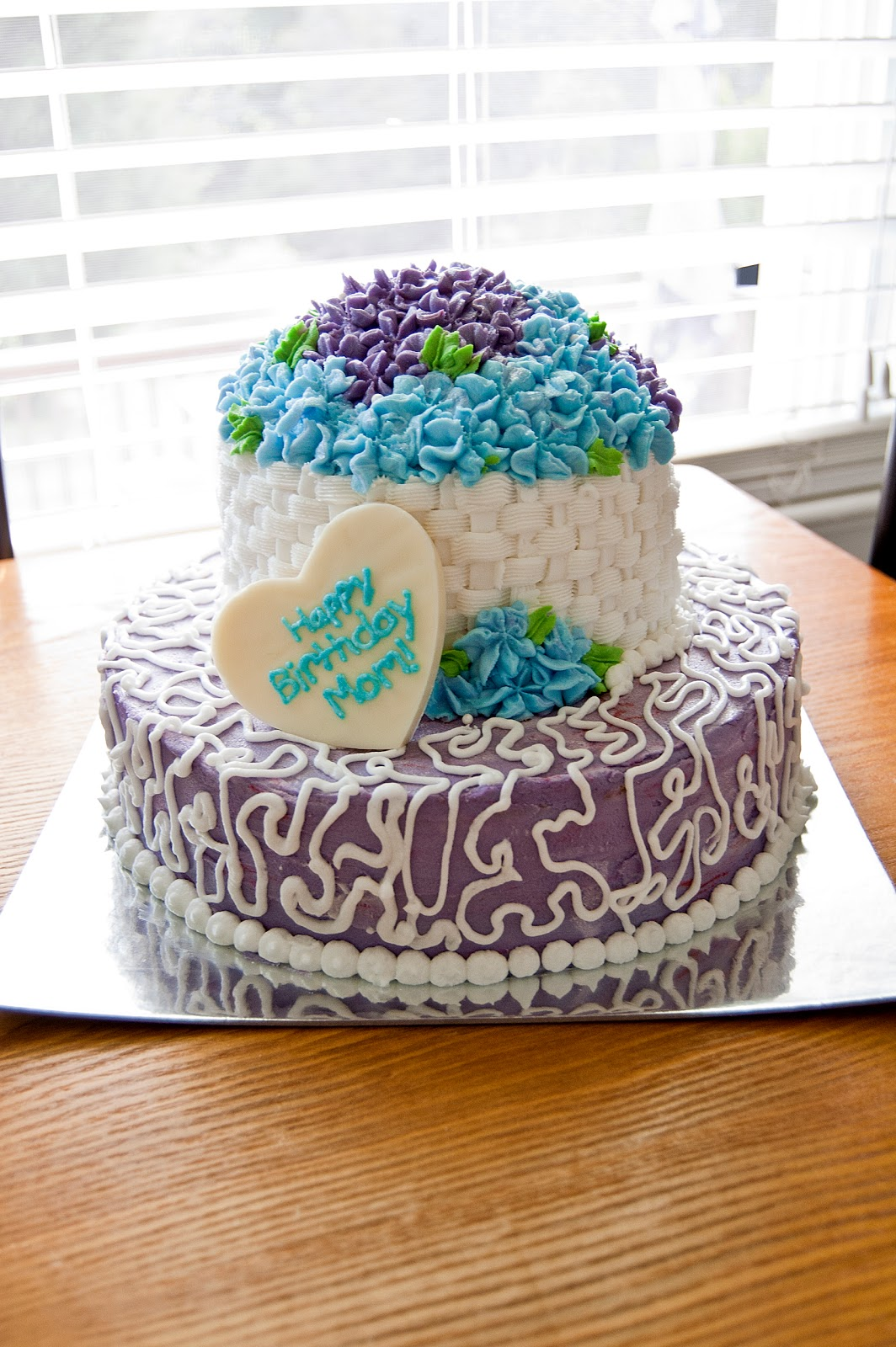 Ohh Baby Moms Birthday Cake