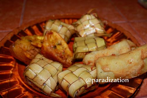 Indonesia traditional cake - Ketupat