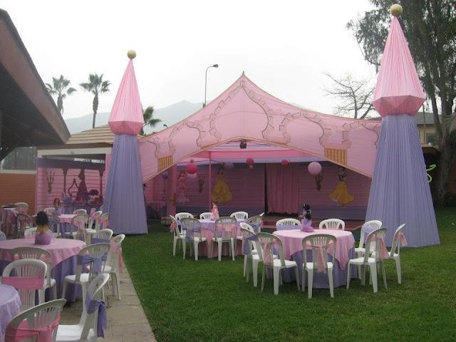 Kalliopelp c mo decorar una fiesta infantil de princesas for Decoracion jardin infantes