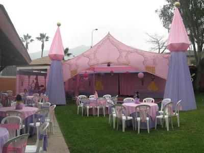 C mo decorar una fiesta infantil de princesas fiestas - Ideas para decorar un cumpleanos de nina ...