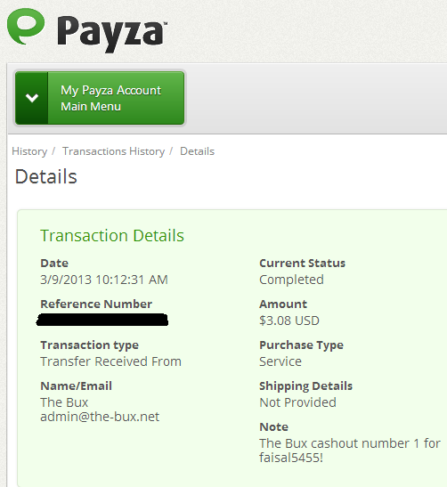 First Payment by Thebux