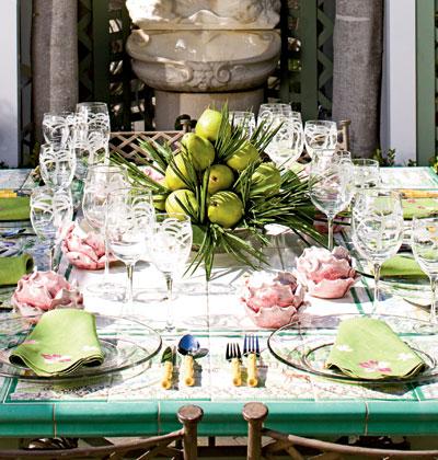 Sem interiors spring table settings for Beautiful table settings for spring