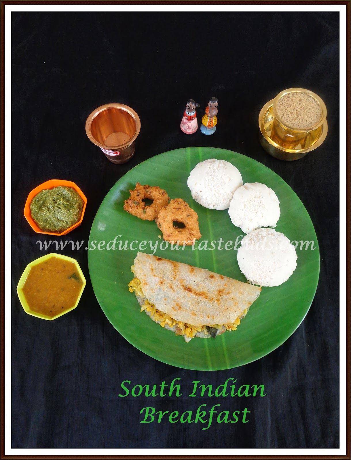 Simple south indiantamil nadu breakfast platter seduce your simple south indiantamil nadu breakfast platter forumfinder Image collections