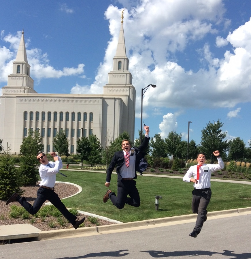 Elders lovin' life @ Kansas City Temple