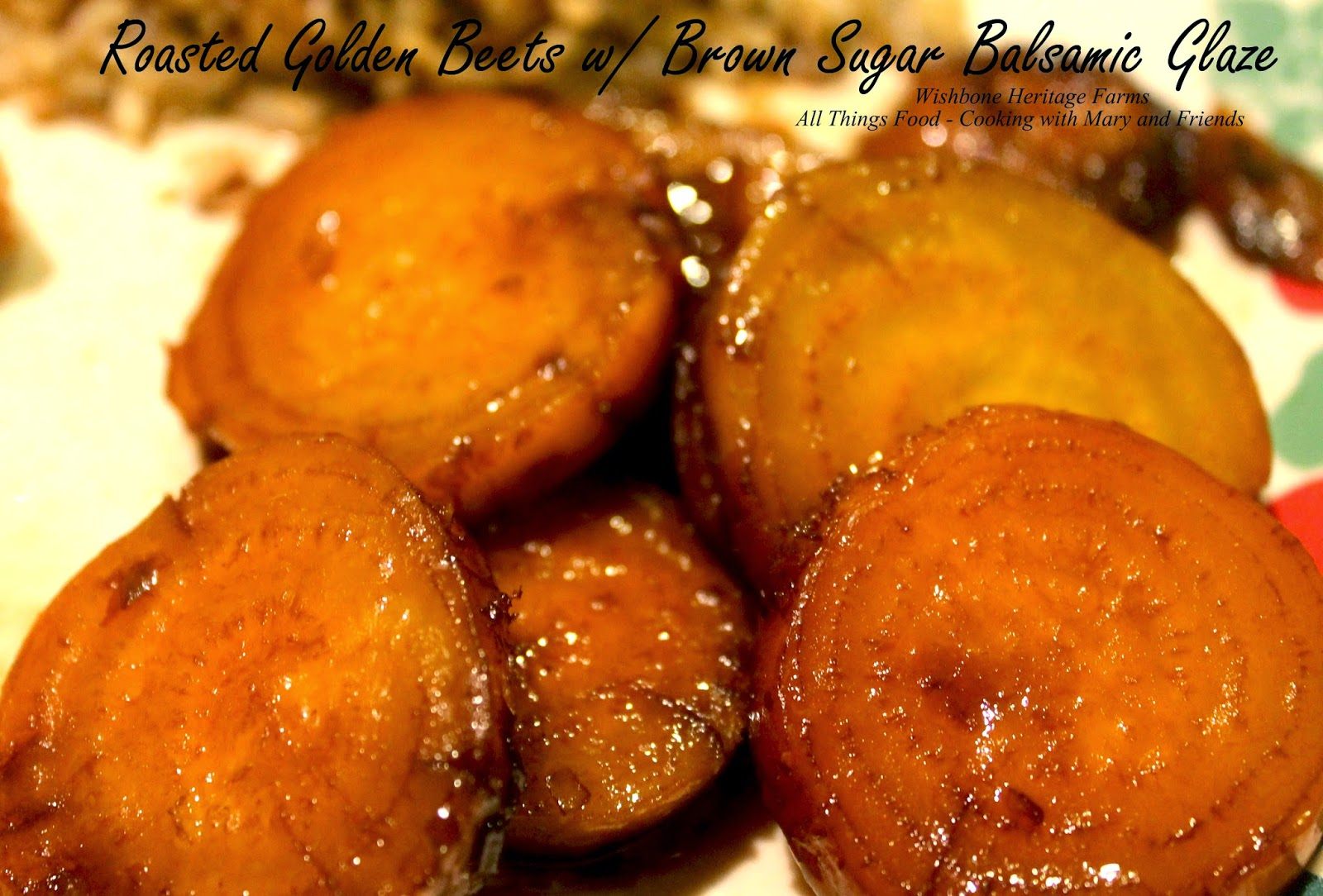 Cooking With Mary and Friends: Roasted Golden Beets with ...
