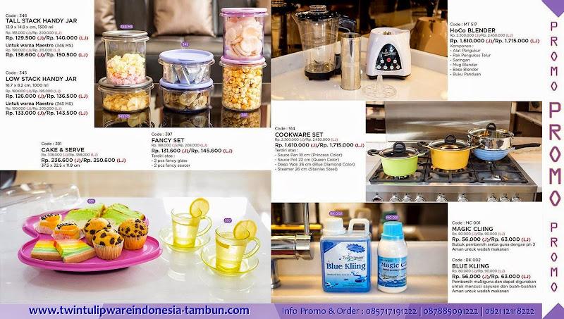 Promo Twin Tulipware Januari - Februari 2015 ~ Diskon 30%