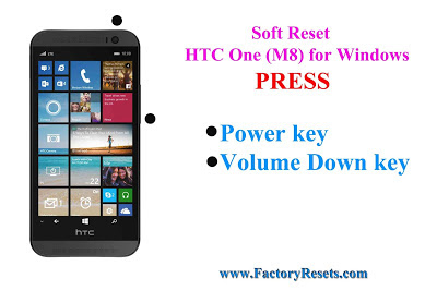 Soft Reset  HTC One (M8) for Windows (CDMA)