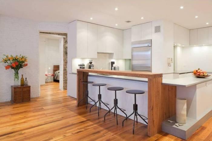 Un loft de Manhattan se Desliza Dentro de la Flexibilidad | Cocinas ...