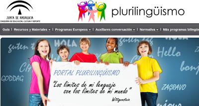 PORTAL DE PLURILINGÜISMO DE ANDALUCÍA