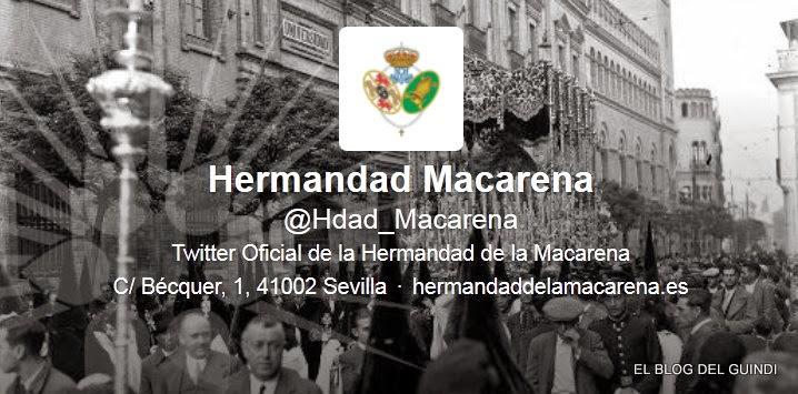 LA HERMANDAD DE LA MACARENA EN TWITER