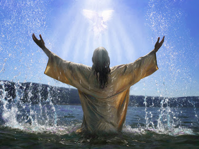 Jesus Baptism Wallpaper
