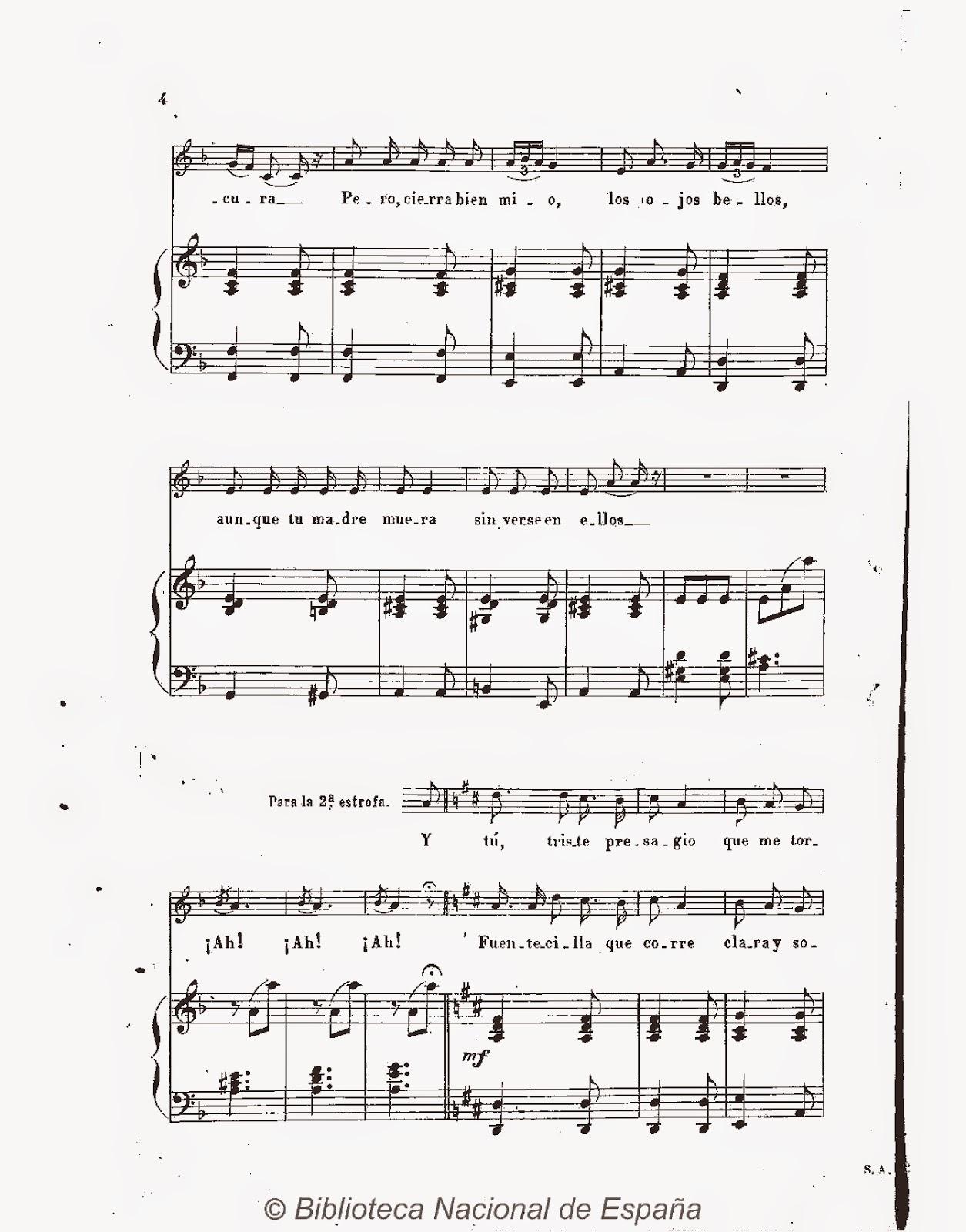 Miss Jacobsons Music A La Nanita Nana Song History