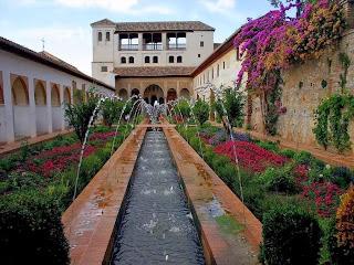 Jardines del Generalife., Granada