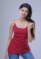 Pranitha, In, Red