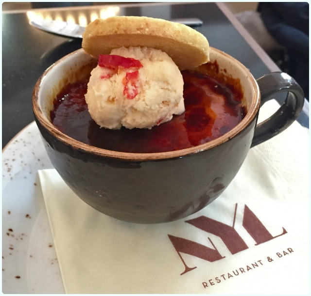 NYL Restaurant and Bar - Creme Brulee