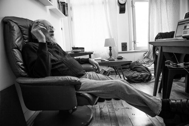 John @ Fly Agaric 23 Studios by Simon Cornils