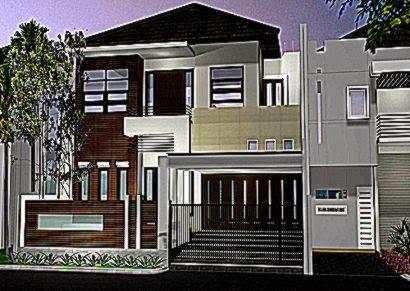 Gambar Desain Rumah Bertingkat Minimalis Modern  Desain dan Tips