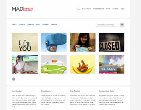 Free Madkassar Great Blogger template