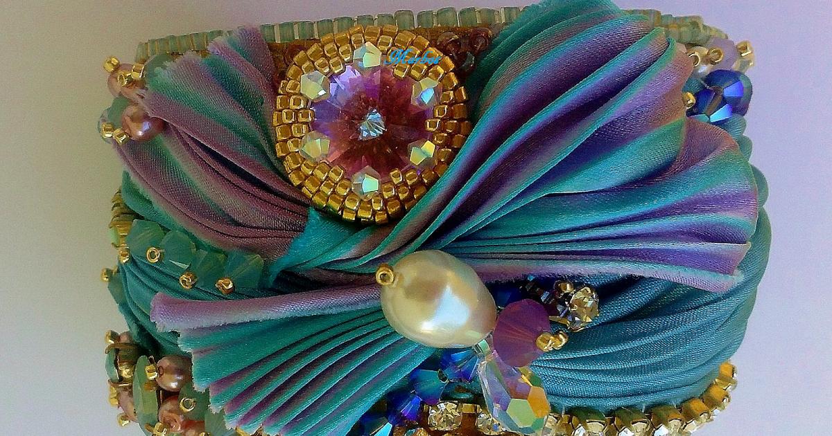 Passione di perle shibori cuff il giardino sul mare - Il giardino sul mare ...
