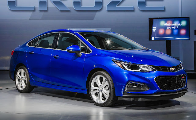 The Amazing New Launching Chevrolet Cruze 2016