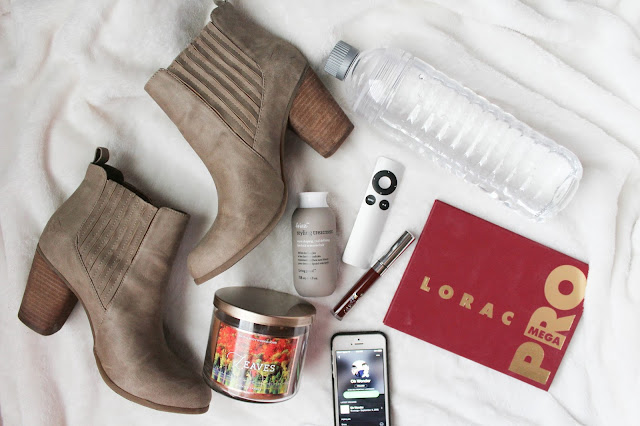 dsw steve madden booties lorac mega pro palatte bath and body works leaves candle colour pop cosmetics oh wonder music make up shoes hair