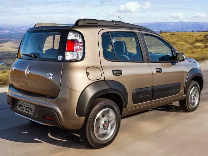 Novo Fiat Uno 2014 2015 way preço consumo