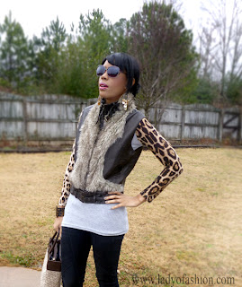 Faux Fur Style Bloggers