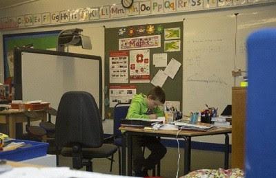 الذين يهتمون بالتعليم فعلا:مدرسة في اسكتلندا تضم تلميذا واحدا