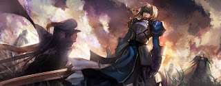 Saber Fate Stay Night Armor Sword Female Girl Anime HD Wallpaper Desktop PC Background  1990