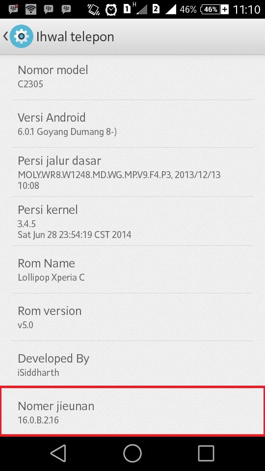 Cara Root Xperia C Dual dengan WMShua