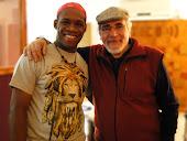 Con Carmelo Urbano