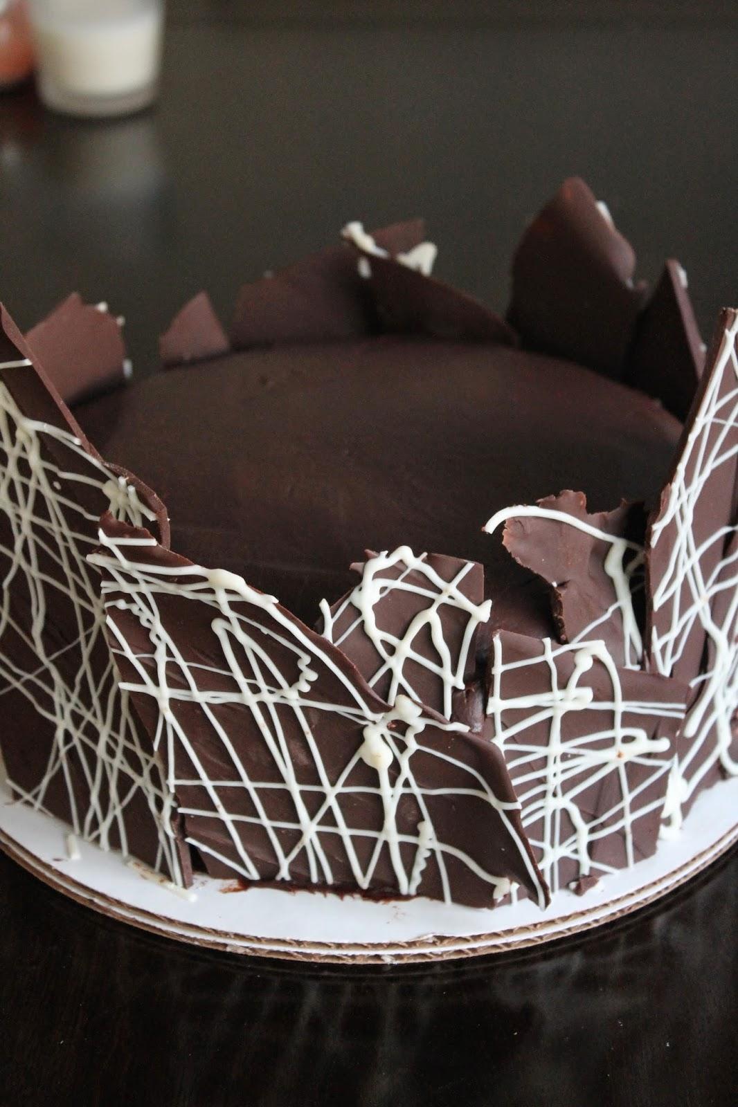 The Cultural Dish Ultra Chocolate Ganache Layer Cake