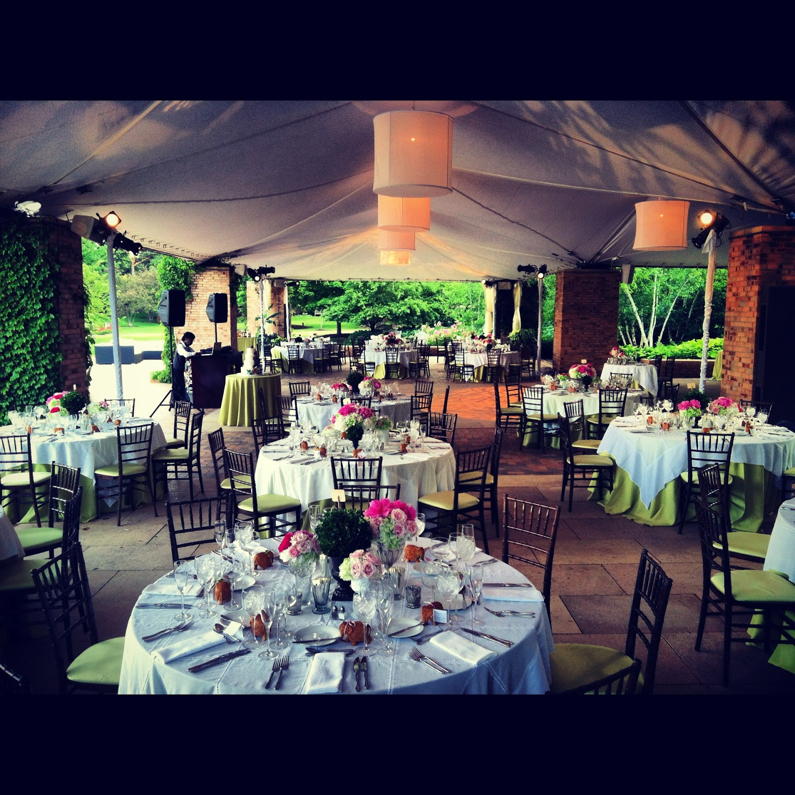Liven it up events corporate affairs boutique weddings and social soirees in chicago for Chicago botanic garden wedding
