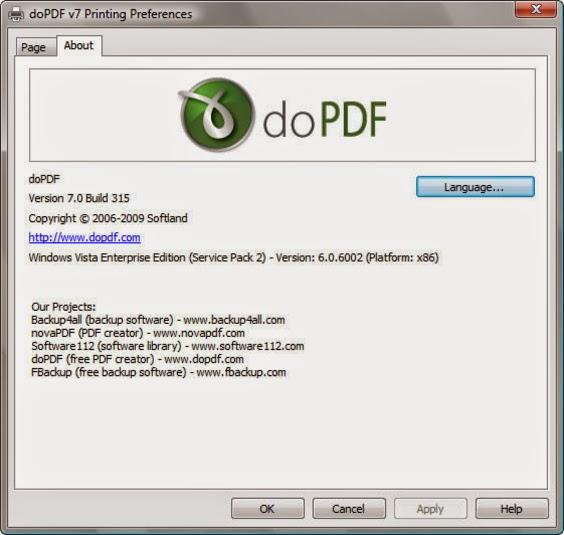 pdf creator windows vista free